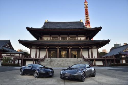 DB11 in Japan 01