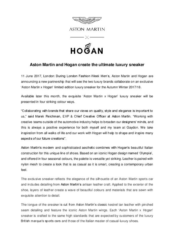 Aston Martin and Hogan create the ultimate luxury sneaker.pdf