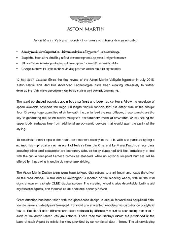Aston Martin Valkyrie secrets of exterior and interior design revealed.pdf