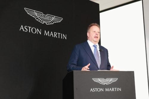 Andy Palmer President  CEO Aston Martin