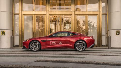 Waldorf Astoria Beverly Hills Debuts ExclusiveAston Martin Driving - Aston martin beverly hills