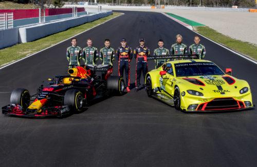 Aston Martin Red Bull Racing RB14 Aston Martin Racing WEC Vantage GTE