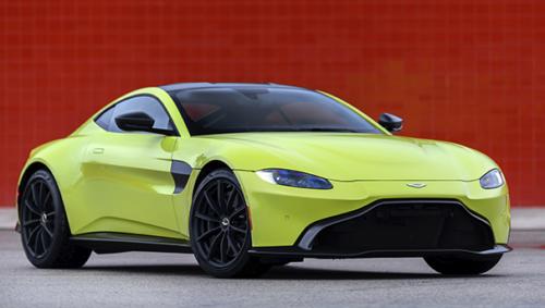 Aston Martin Vantage Lime Essence On Track Aston Martin Pressroom