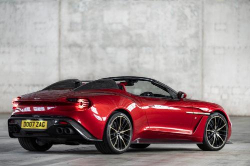 Aston Martin Vanquish Zagato Speedster Aston Martin Pressroom