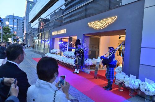 Grand Opening of Aston Martin Kobe 17-JPG