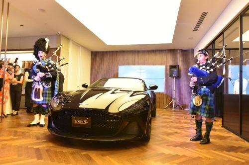 Grand Opening of Aston Martin Kobe 29-JPG