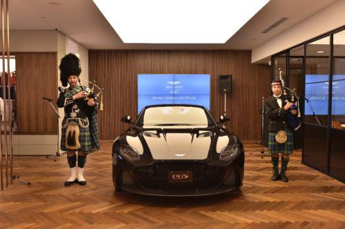 Grand Opening of Aston Martin Kobe 14-JPG