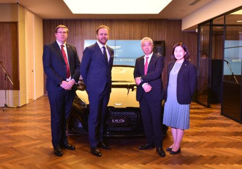 Grand Opening of Aston Martin Kobe 11-JPG