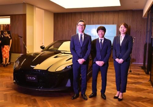 Grand Opening of Aston Martin Kobe 12-JPG