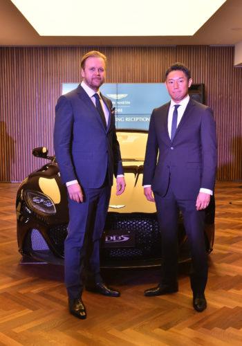 Grand Opening of Aston Martin Kobe 10-JPG