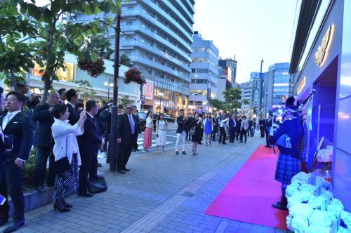 Grand Opening of Aston Martin Kobe 16-JPG