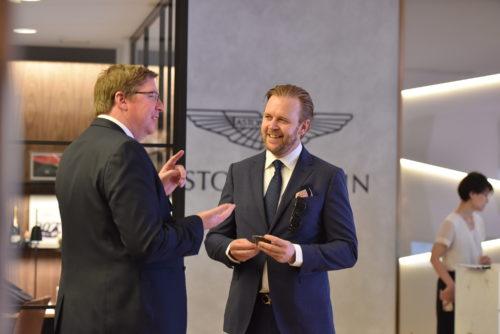 Grand Opening of Aston Martin Kobe 4-JPG