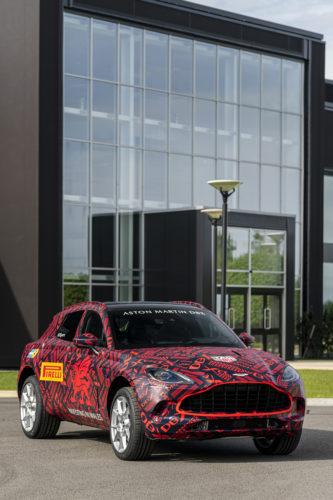 Aston Martin DBX at St Athan04-jpg