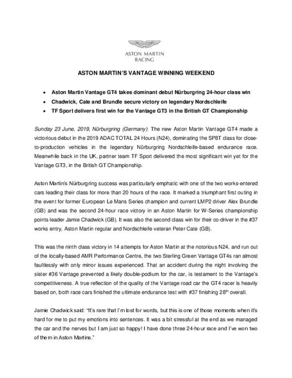 ASTON MARTINS VANTAGE WINNING WEEKEND-pdf