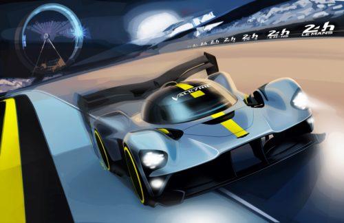 Aston Martin Valkyrie Le Mans 2021