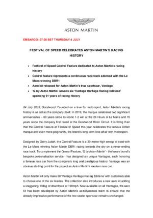 FESTIVAL OF SPEED CELEBRATES ASTON MARTINS RACING HISTORY-pdf