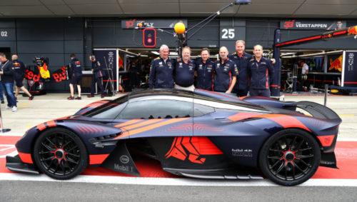 Aston Martin Valkyrie Wows Crowds On Public Debut At Silverstone Aston Martin Pressroom