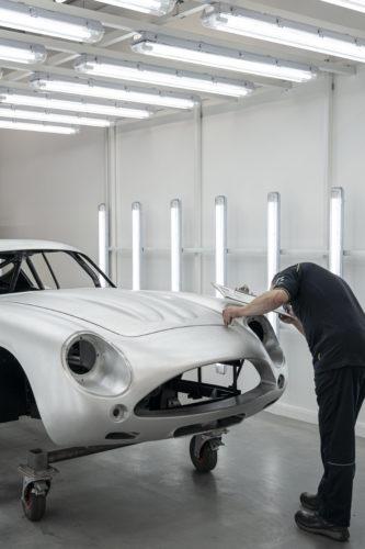 Aston Martin DB4GT Zagato BuildNewport Pagnell20-jpg