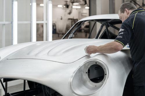 Aston Martin DB4GT Zagato BuildNewport Pagnell19-jpg