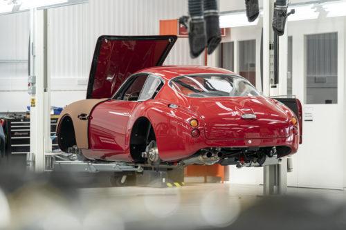 Aston Martin DB4GT Zagato BuildNewport Pagnell12-jpg