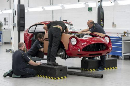 Aston Martin DB4GT Zagato BuildNewport Pagnell03-jpg