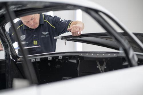 Aston Martin DB4GT Zagato BuildNewport Pagnell18-jpg