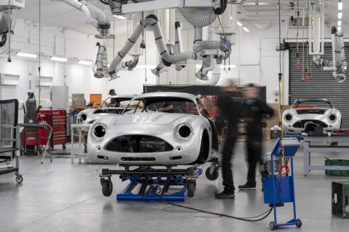 Aston Martin DB4GT Zagato BuildNewport Pagnell09-jpg