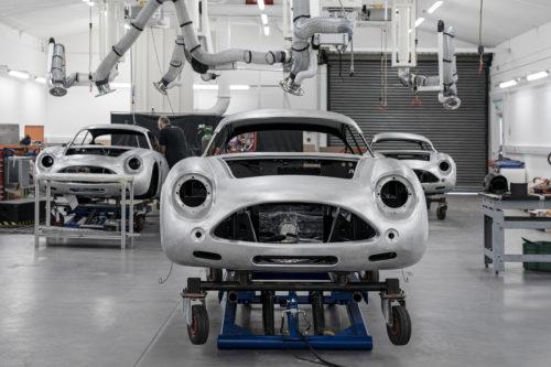 Aston Martin DB4GT Zagato BuildNewport Pagnell01-jpg