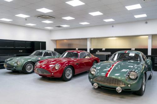 Handovers begin of Aston Martin DB4 GT Zagato Continuation models – photo Max Earey  6-jpg