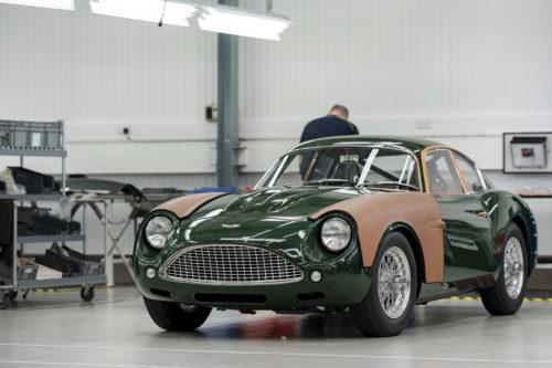 Handovers begin of Aston Martin DB4 GT Zagato Continuation models – photo Max Earey  42-jpg
