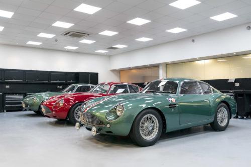 Handovers begin of Aston Martin DB4 GT Zagato Continuation models – photo Max Earey  71-jpg