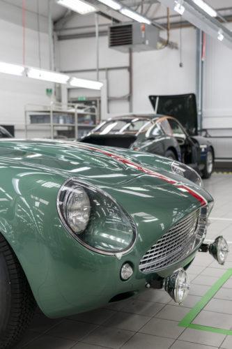 Handovers begin of Aston Martin DB4 GT Zagato Continuation models – photo Max Earey  27-jpg