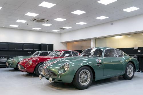Handovers begin of Aston Martin DB4 GT Zagato Continuation models – photo Max Earey  9-jpg
