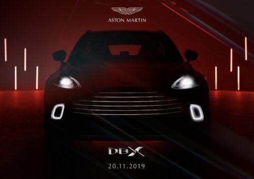 Aston Martin DBX 20-11-19