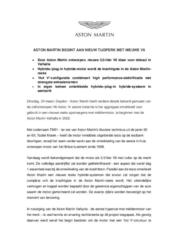 DUTCH - ASTON MARTIN NIEUW TIJDPERK MET V6-pdf