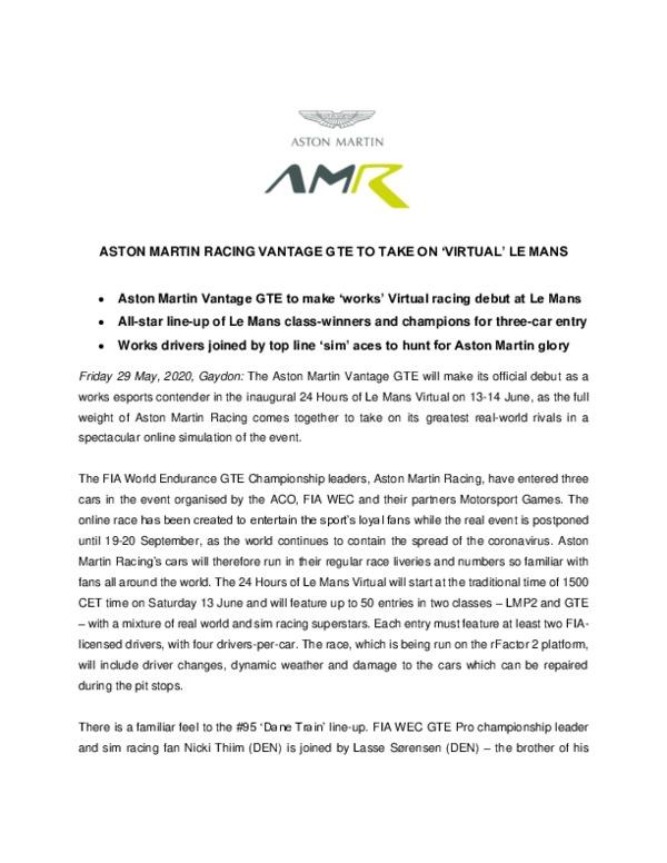 AMR Le Mans Virtual 2020-pdf