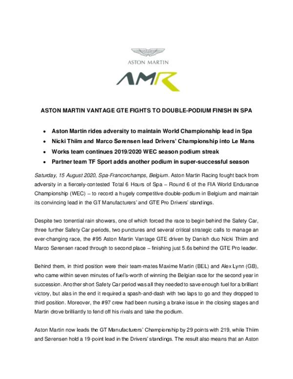 Spa 2020 race-pdf
