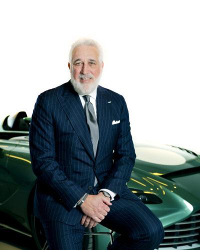 Lawrence Stroll Executive Chairman Aston Martin Lagonda Aston Martin Pressroom